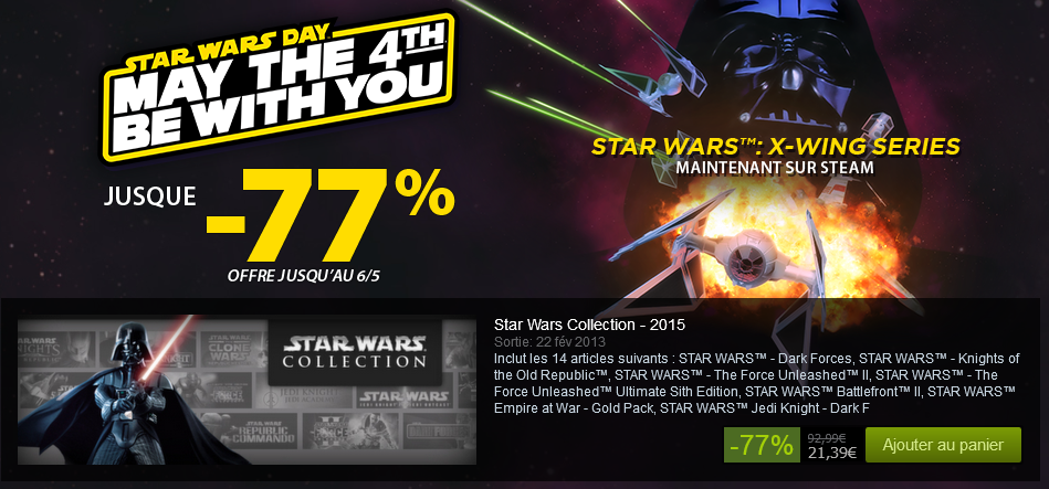 http://store.steampowered.com/sale/star_wars_may_4_2015