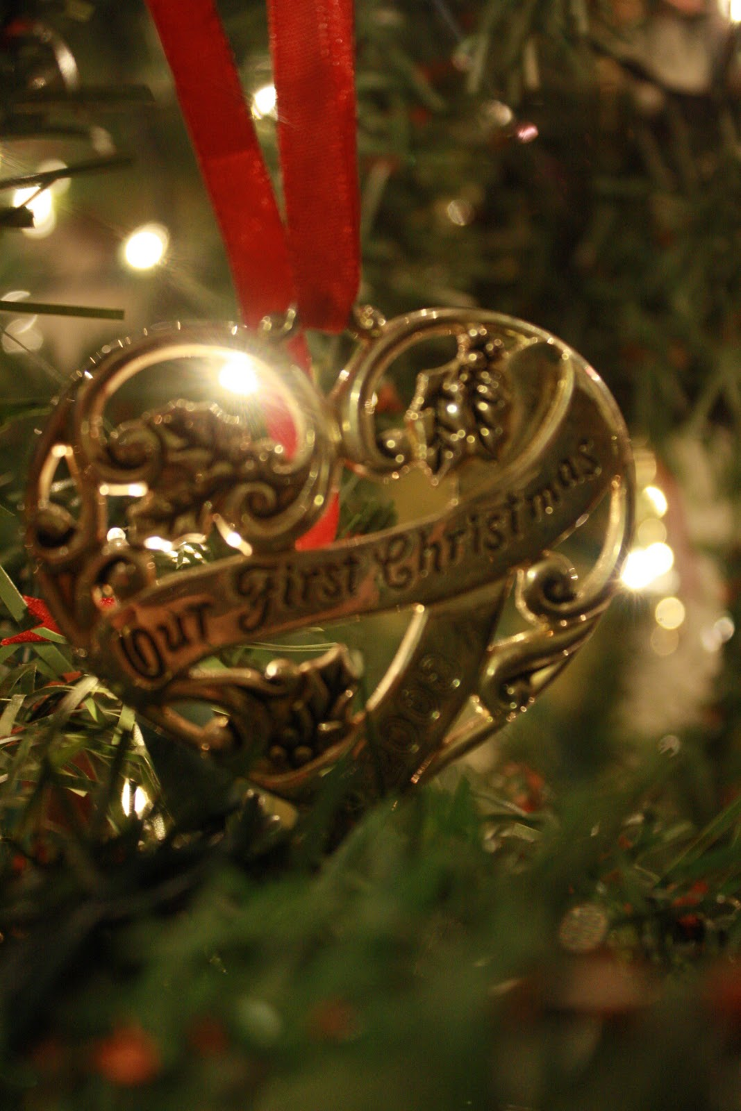 First married christmas ornament - We Were Given This Beautiful Ornament The Year We Were Married As A Christmas Gift Every Year As We Unwrap It And Hang It On Our Tree We Remember The