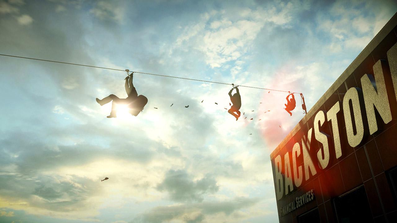 Battlefield Hardline - Missão da Comunidade: 2 eliminações com a tirolesa