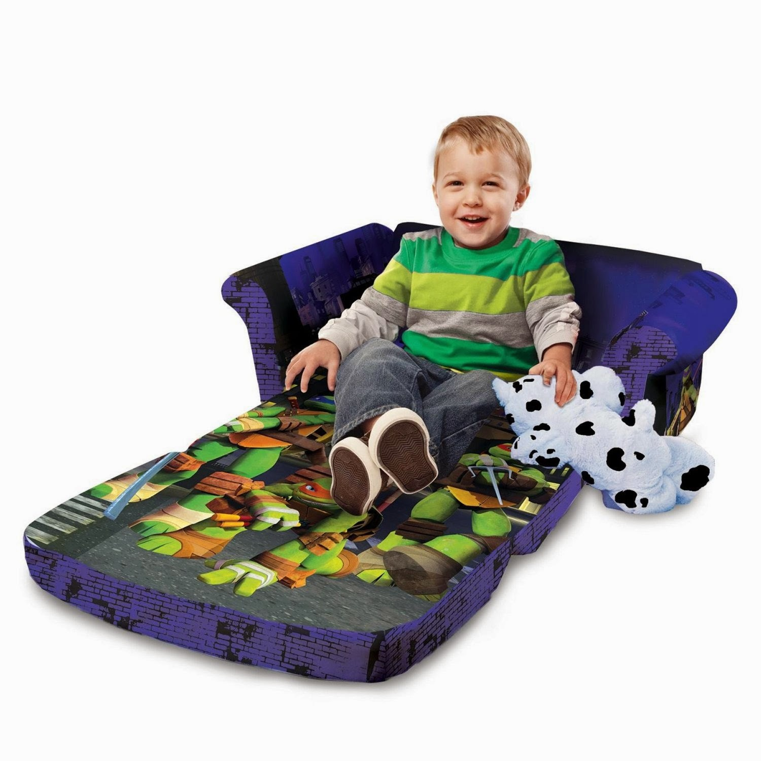 Fold out couch for kids - Open Sofa Marshmallow Kids Fold Out Couch With Neverland Pirates
