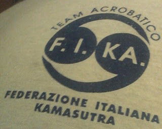 222 - federazione Italiana kamasutra team acrobatico logo
