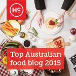 Proud to be one of Australia's Top Food Blogs