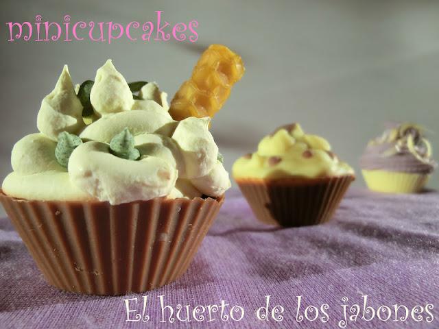 Primer plano cupcakes