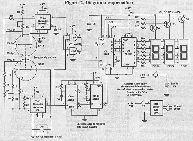 curso de programaci u00f3n de microcontroladores   capacimetro digital con pic16f84a