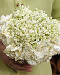 Ramo combinado con Gardenias y Muget