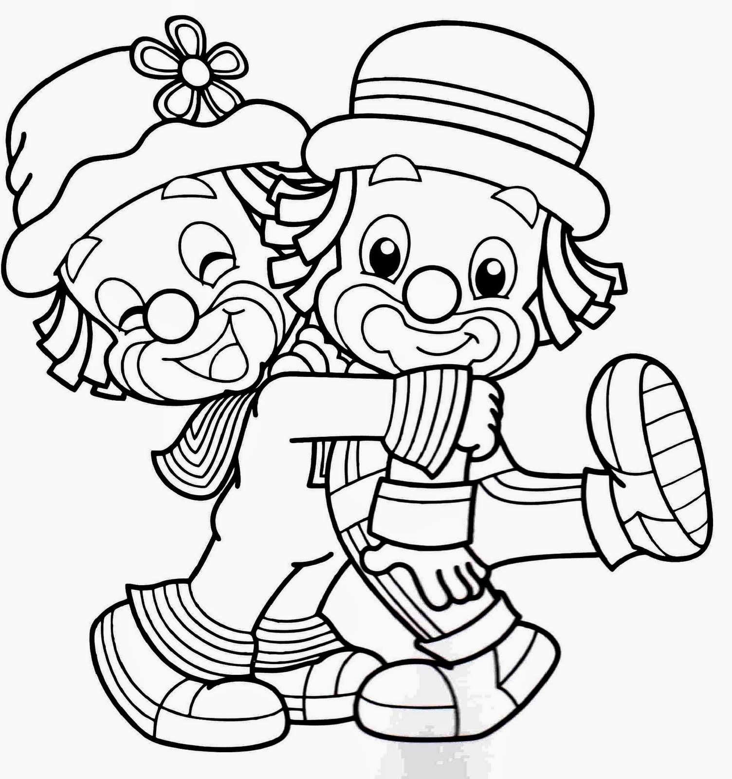 desenhos patati patatá para colorir desenhos para colorir