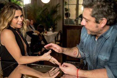 Atena ( Giovanna Antonelli ) e Romero ( Alexandre Nero ) Crédito: Globo/Renato Rocha Miranda