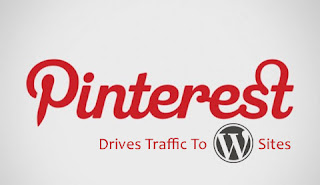 Pinterest drives traffic To WordPress sites