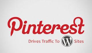 Pinterest drives traffic To WordPress sites