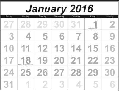 ... : FREEISMYLIFE January 2016 Calendar - All the January FREE in 1 List