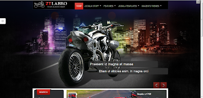 Labro bike joomla templates