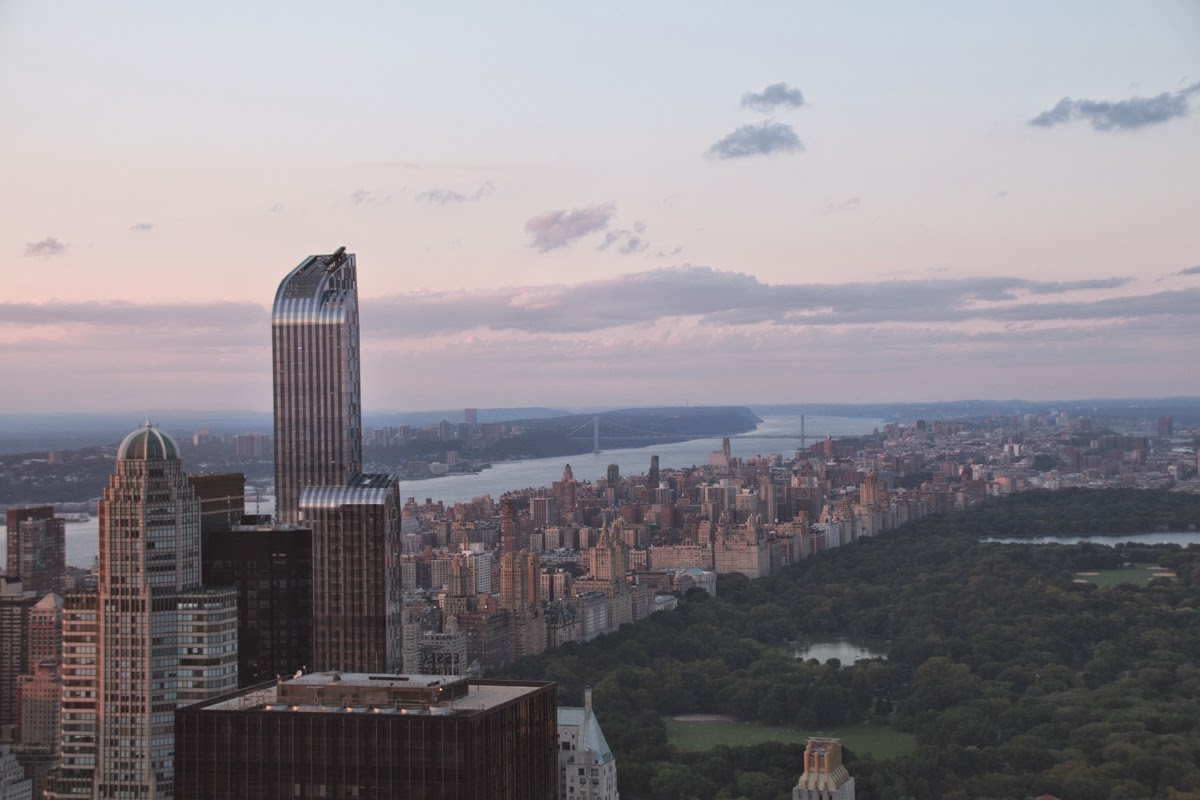 nyc top of the rock central park