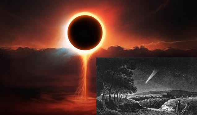 Η παράξενη ιστορία του κομήτη του Tecumseh, η προφητεία του μαύρου ήλιου και  οι μεγαλύτεροι σεισμοί στην αμερικανική ιστορία.