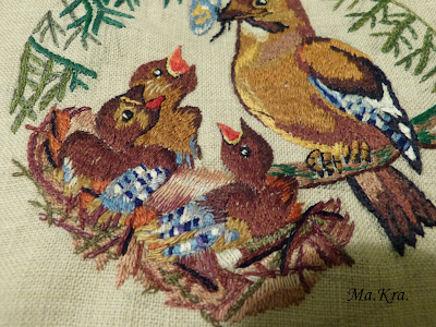 haftowane ptaki