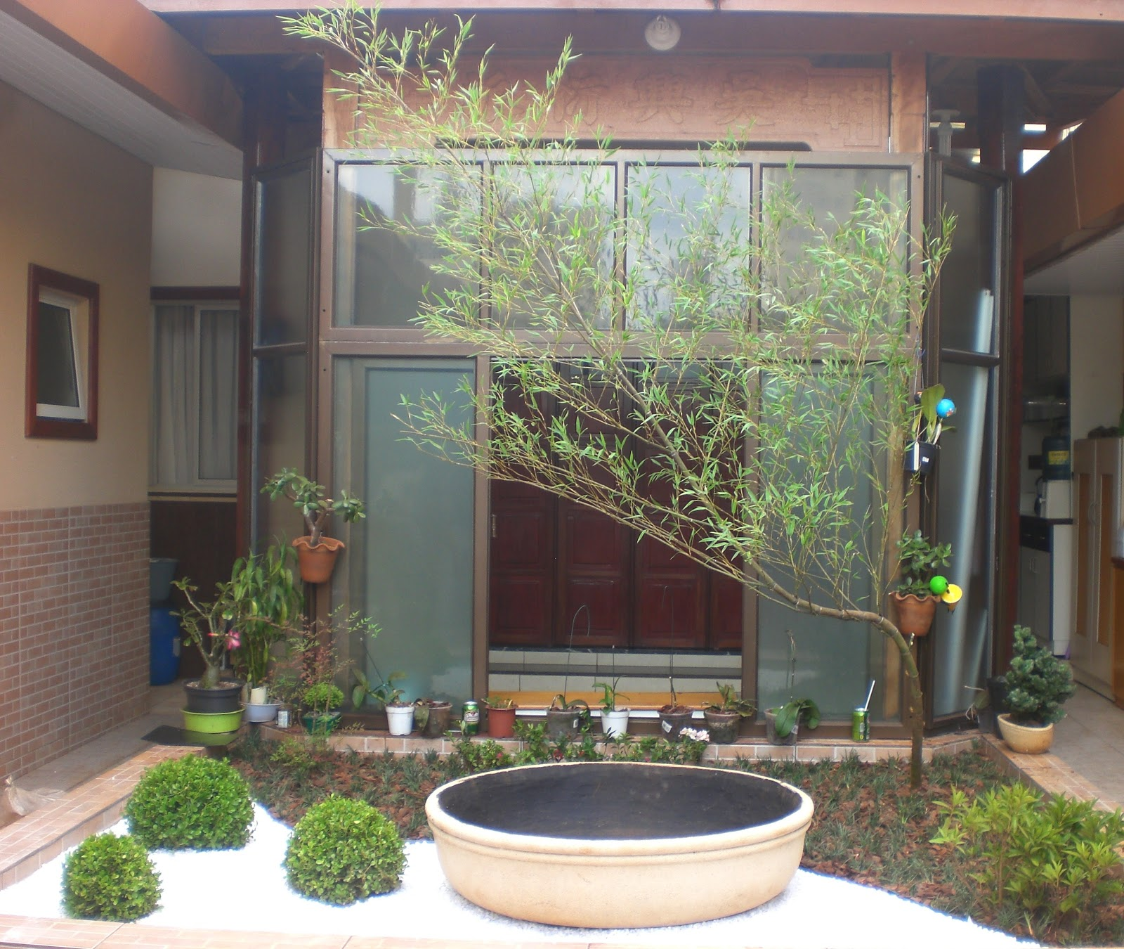 plantas para jardim orientaloriental, todos os elementos usados são