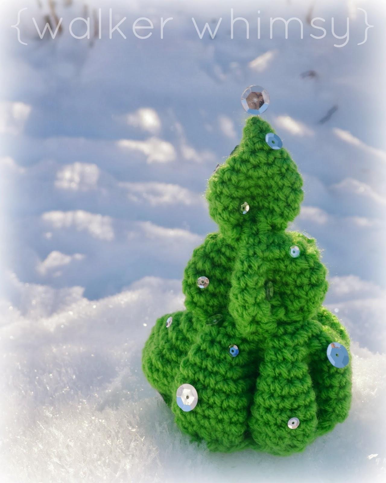 walker whimsy}: Crochet Christmas Tree {POTM}