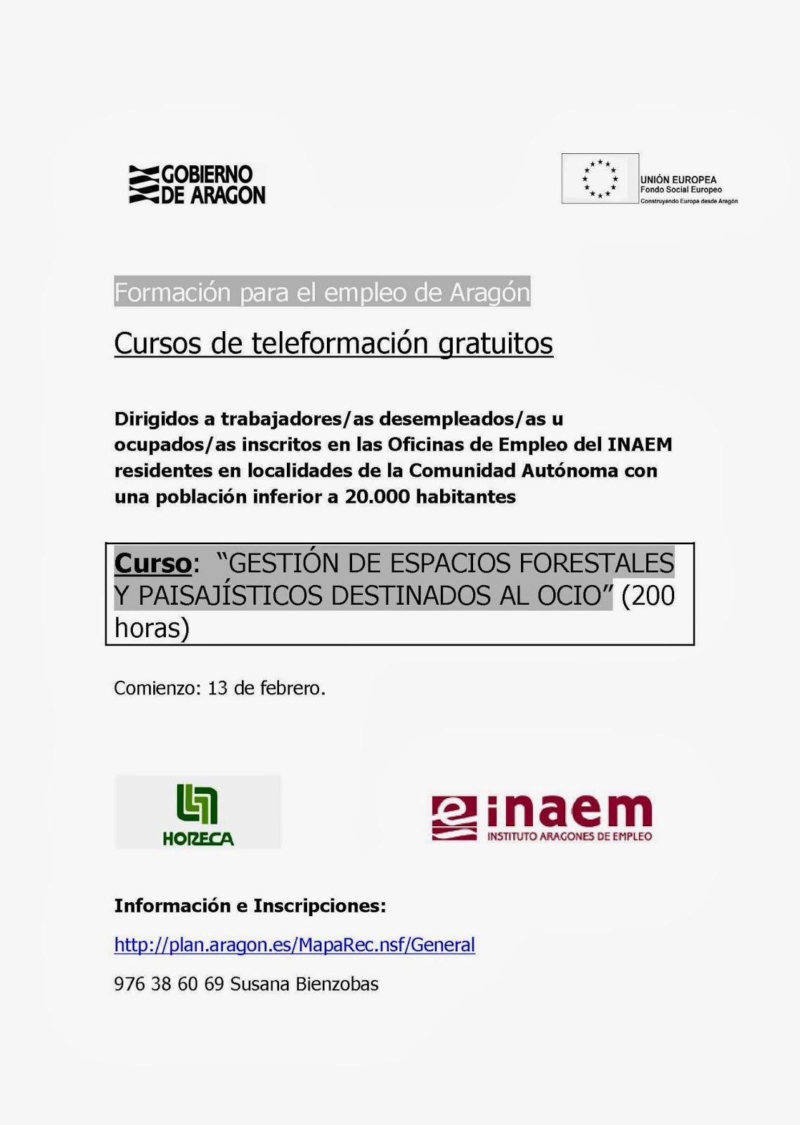 Desarrollo local y empleo en el bajo arag n hco curso - Gestion de espacios ...