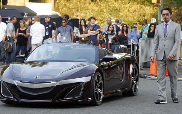 ... Also Known As A Remixed Acura NSX. Although Iron Man Will Be Driving  The Roadster NSX This May When The Movie Opens, The Public Likely Wonu0027t  Have Access ...