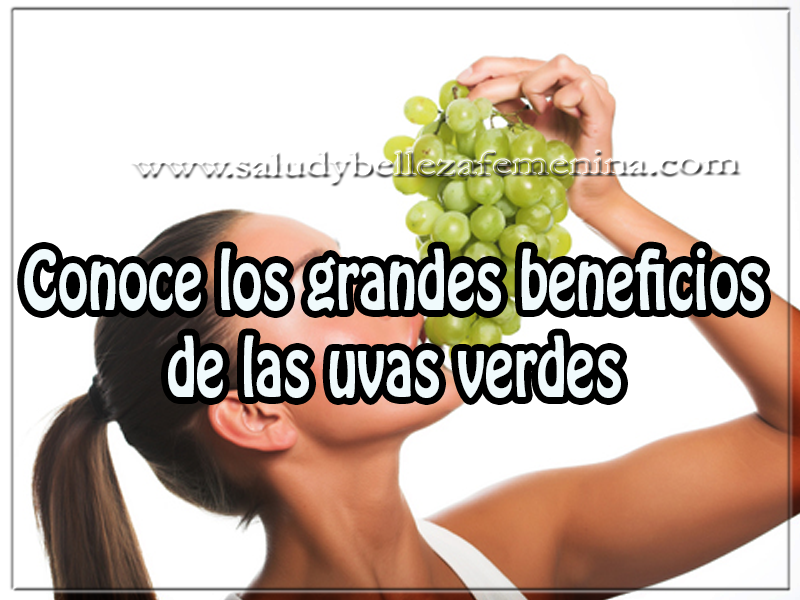 Salud y bienestar, conoce los grandes beneficios de las uvas verdes