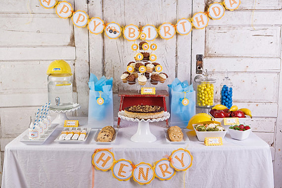 Get The Party Started giveaway construction theme