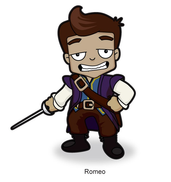 romeo character Romeo and juliet is a famous tragedy written by william shakespeare   mercutio is a fictional character who does not appear in the original version and.