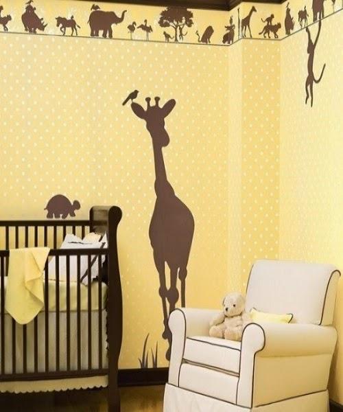 Modèle de decoration girafe bébé