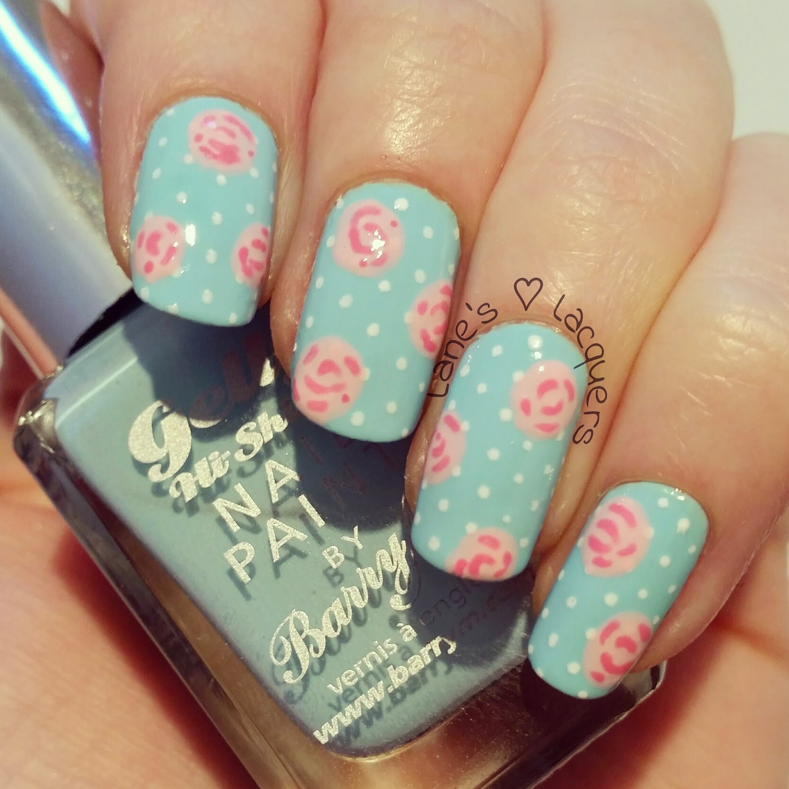 mani-swap-my-mint-nails-barry-m-spring-cath-kidston-roses-polka-dot-nail-art