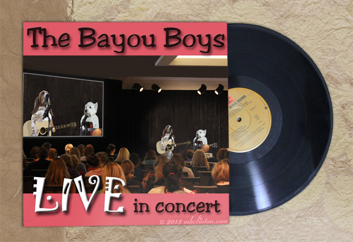 Album Cover from The Bayou Boys Live