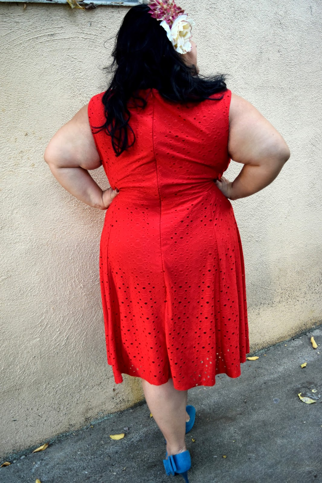london times fuego plussize dress (outfit of the day) - bbwgeneration