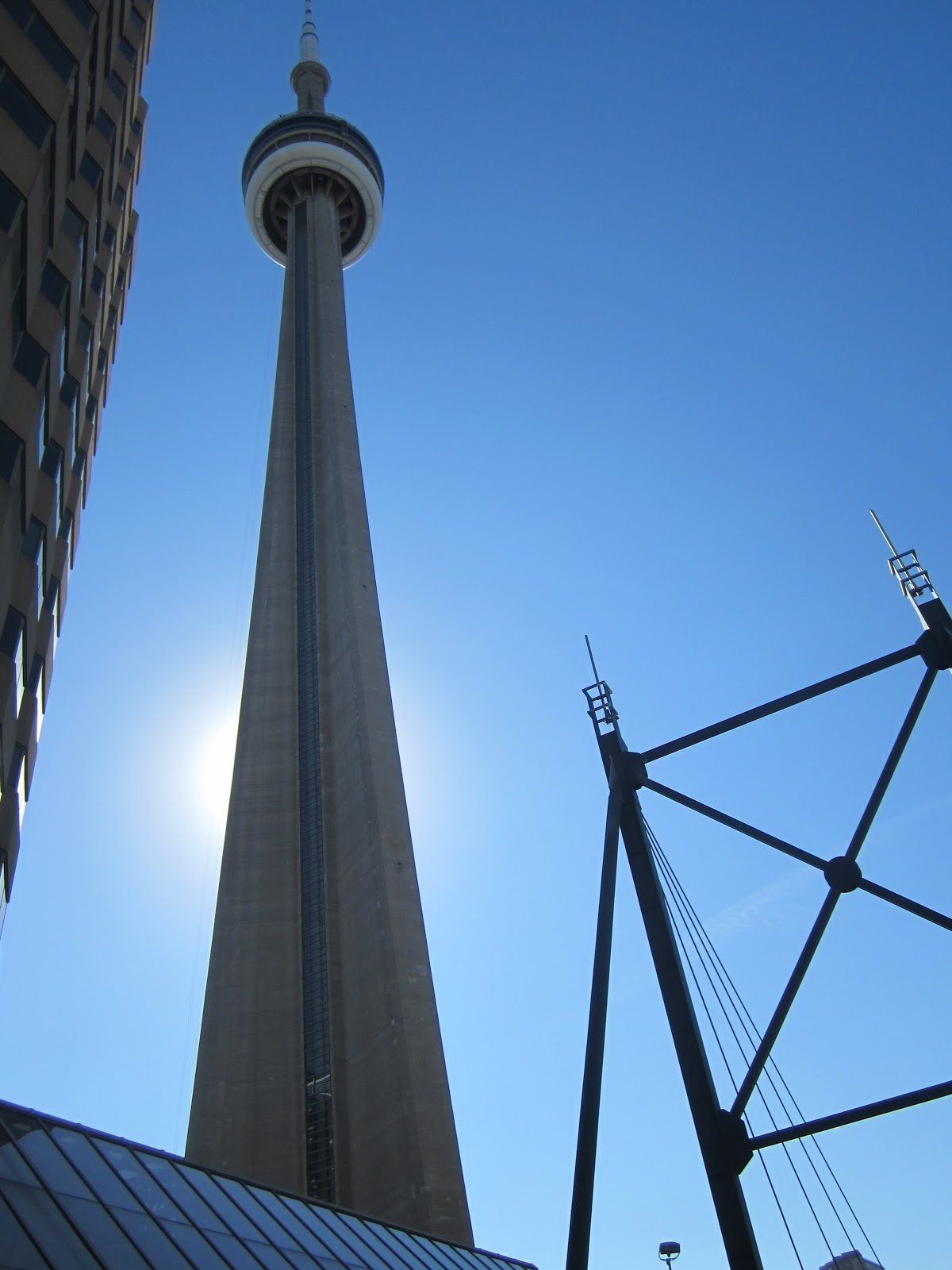 Cn tower and its fun surroundings for How many floors in the cn tower