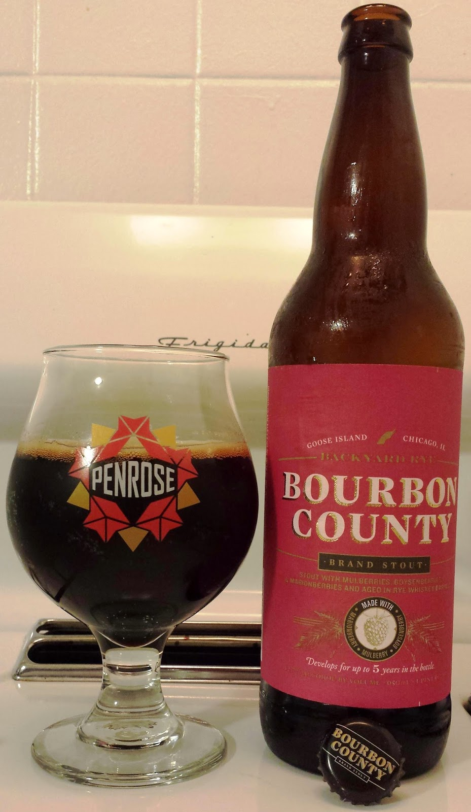 Bourbon County Backyard Rye not another beer review: goose island backyard rye bourbon county