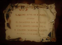 """Galardón """"San Patricio"""""""