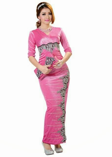 Yu Thandar Tin - I Love Myanmar Dress