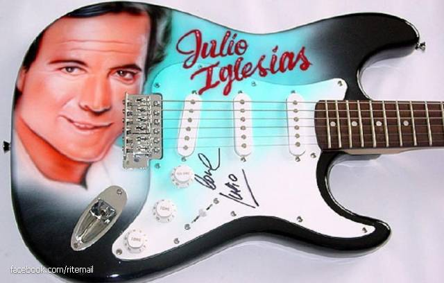Julio Iglesias was a promising footballer, however, was in a horrible car accident. Three years of paralysis (except arms), Julio led to the guitar. Thanks to them Iglesias became a famous musician.
