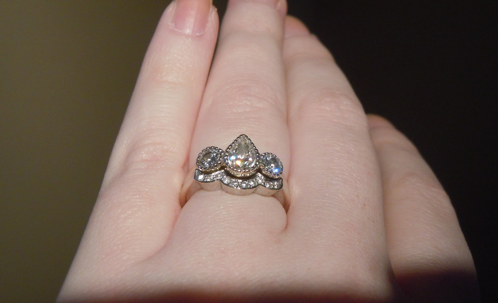 Delighted: Wedding Ring Story