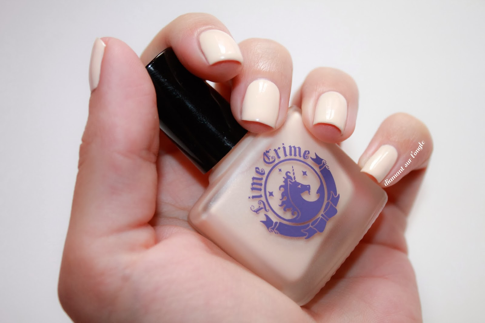 """Swatch of """"Milky Ways"""" by Lime Crime"""