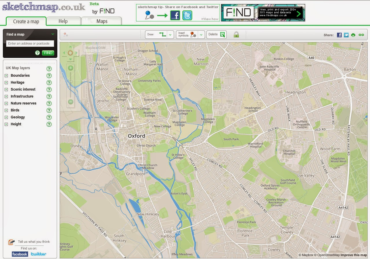find maps blog sketchmap gets openstreetmap os maps and greenbelt layer