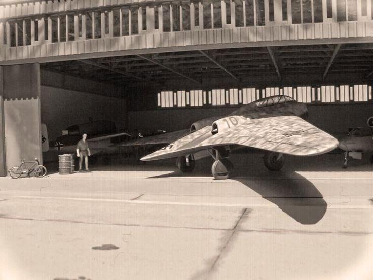 World War II in Pictures: Horten Flying Wing