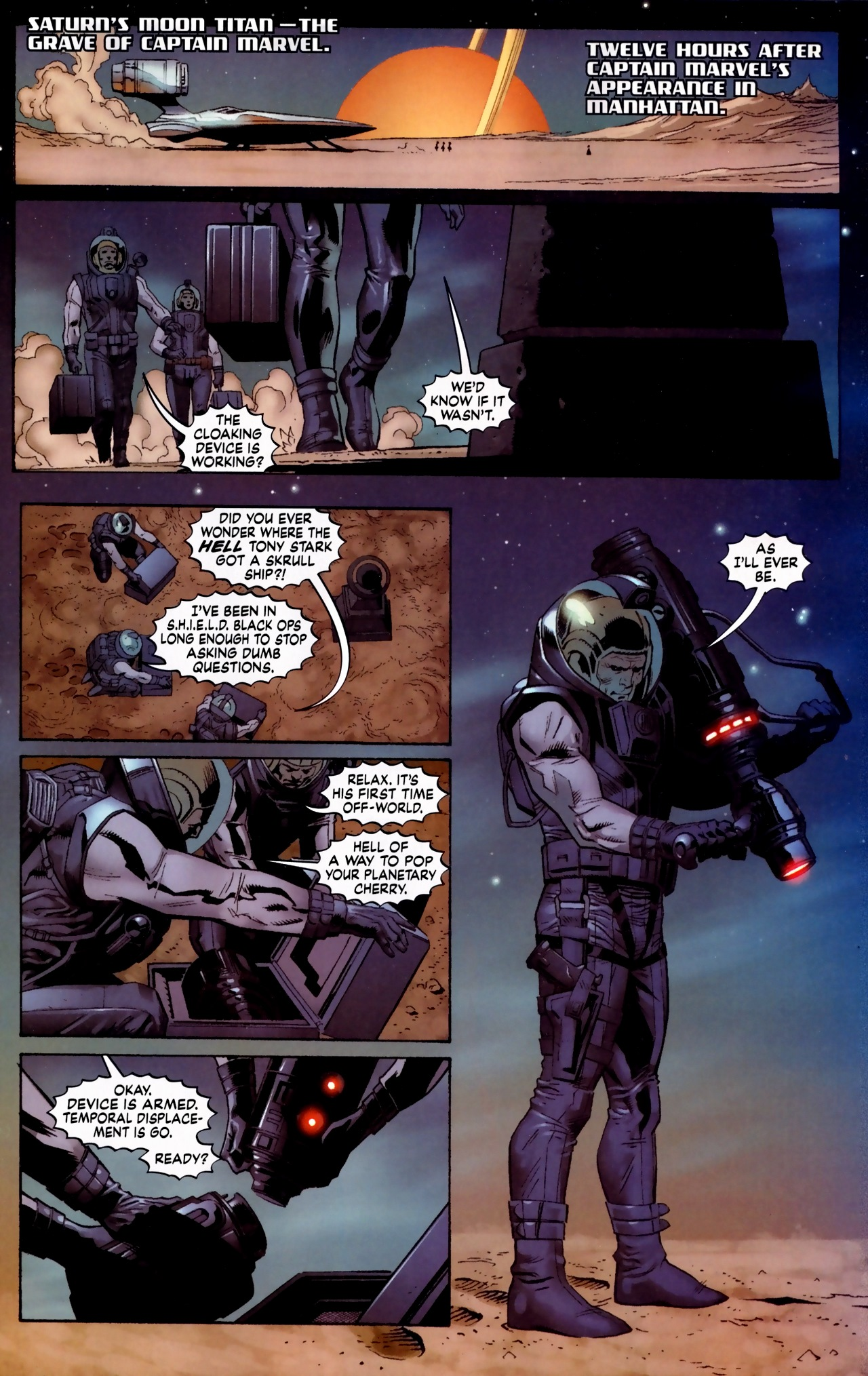 Read online Secret Invasion: The Infiltration comic -  Issue #5 - 2