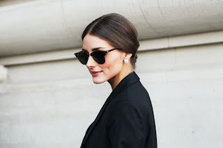 club masters sunglasses 87nl  I am a big fan of Olivia Palermo's style and she wears the Clubmasters well!
