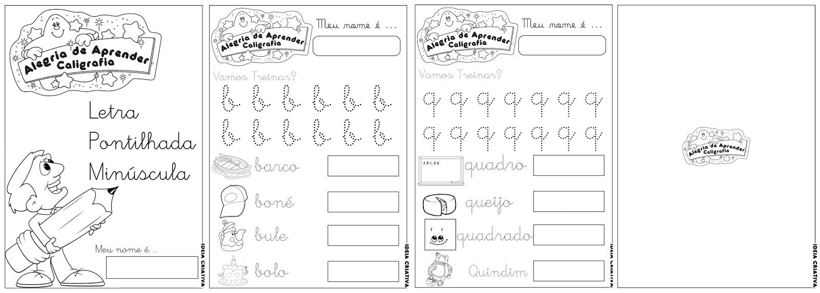 De Atividades De Atividades Alegria De Aprender Caligrafia Letra