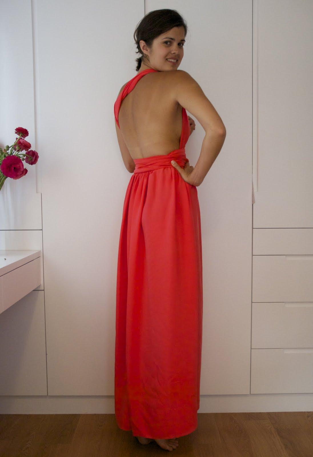 Как без шитья сделать платье