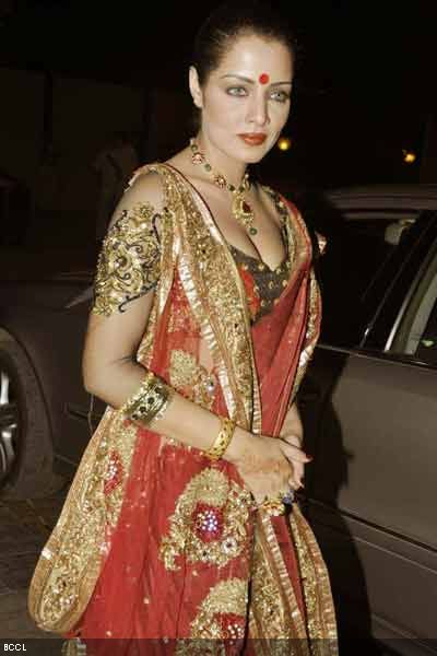 Celina Jaitly at reception