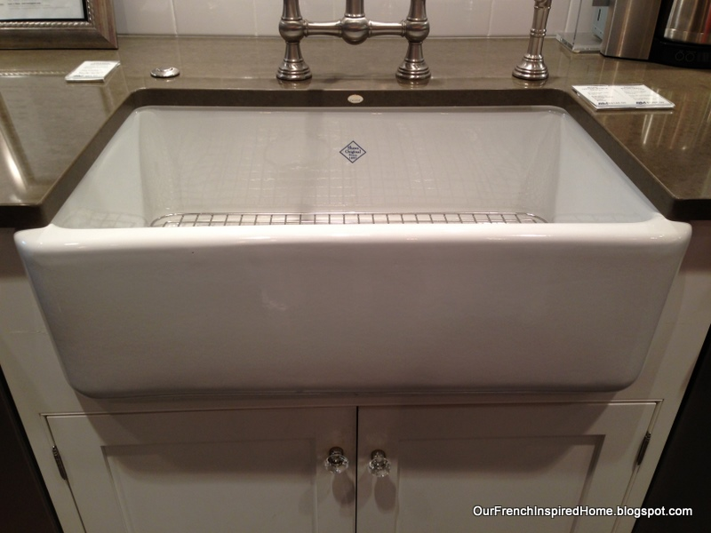 Rohl Farmhouse Sink : Our French Inspired Home: Designing Our French Inspired Kitchen: Abt ...