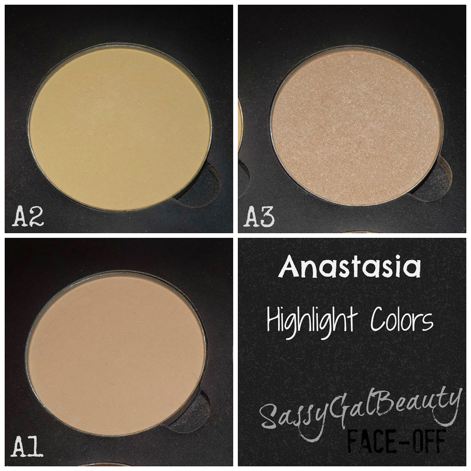 Anastasia Highlight Shades