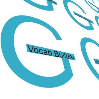Vocab builder G
