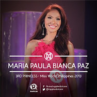 Third Princess (3rd Runner Up): #19 Bianca Paz