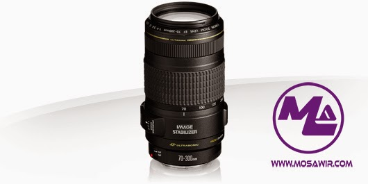 عدسة كانون: EF 70-300mm f/4-5.6 IS USM