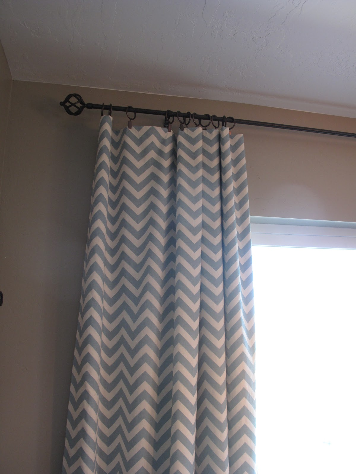 Its Amazing How Much Bigger The Rooms Feel With My Curtain Height Extended
