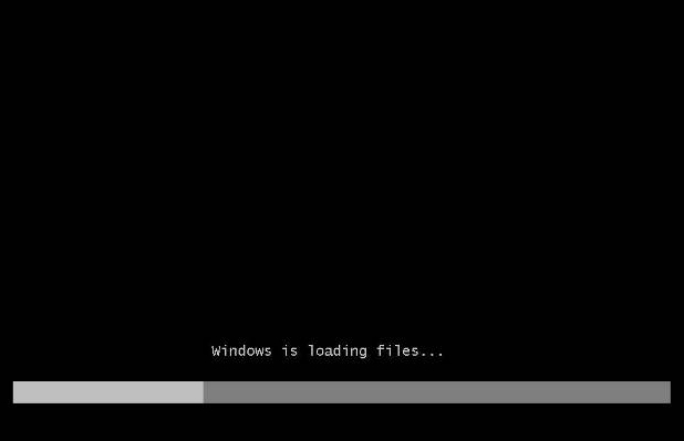 loading file windows 7